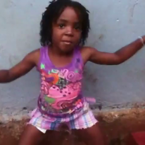 6 Yr Old Dancing To Vybz Kartel Bubble Hard