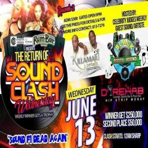 Killamari Vs Black Roots 6/18 (Sound Clash Wednesdays) MoBay
