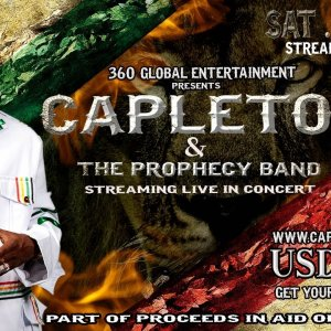 Capleton & The Prophecy Band Live Concert 2020
